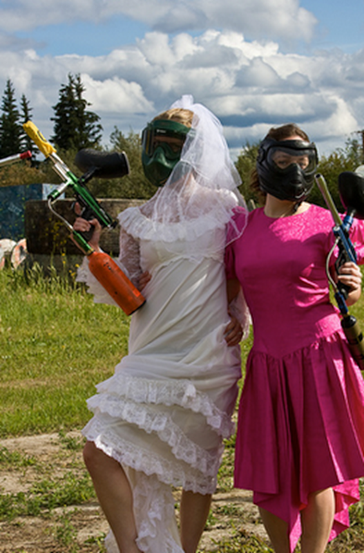 The Paintball Bride 9