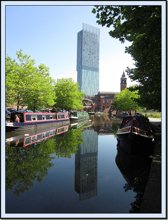 The Beetham Tower, from Castlefield