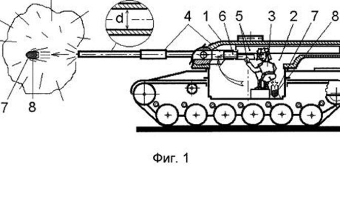 poop shooting tank patent