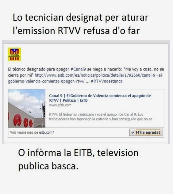 Eitb infòrma de la RTVV