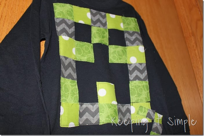 Minecraft Creeper Shirt (11)