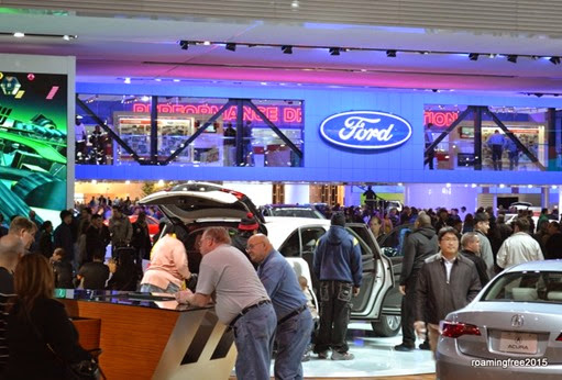 Busy Ford Display