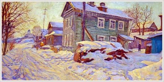 Фадин Игорь Васильевич  (Россия, 1939) «Старая Ладога»