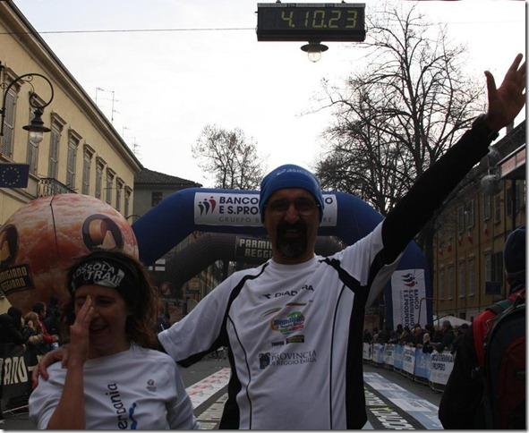 arrivo reggio Marathon