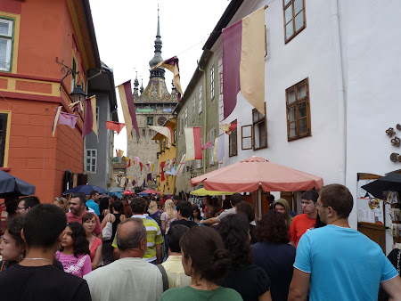 Obiective turistice Romania: Festival Medieval