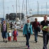 Gåtur ved Fåborg havn - på vej til ishuset :-)