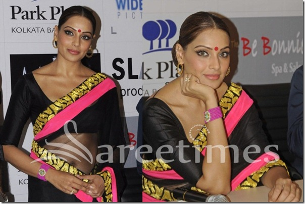 Bipasha_Basu_Black_Masaba_Saree