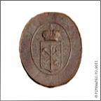 Зем.39-2  Фасадная доска «……» с гербом С.-Петербургской губернии. Жесть, ? см. Фото из коллекции Д.Р. Никулина