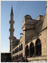 Минарет Голубой мечети. Стамбул. Турция.Фото Косарева Н. www.timeteka.ru