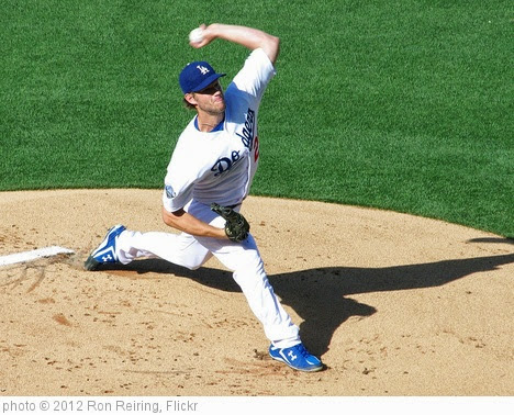 'Clayton Kershaw, L.A. Dodger All Star & two time Cy Young Award winner' photo (c) 2012, Ron Reiring - license: https://creativecommons.org/licenses/by/2.0/