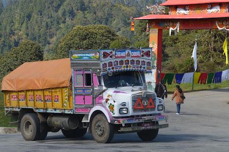 Camion Bhutan