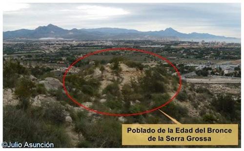 Poblado de la Serra Grossa - Alicante