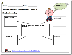 What's on a Farm?  Informational Writing for Primary Grades