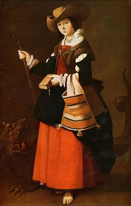 Zurbaran, St Marguerite