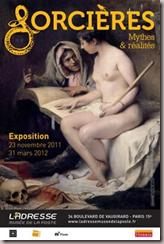 SORCIÈRES Mythes et réalités Du 23 novembre 2011 au 31 mars 2012