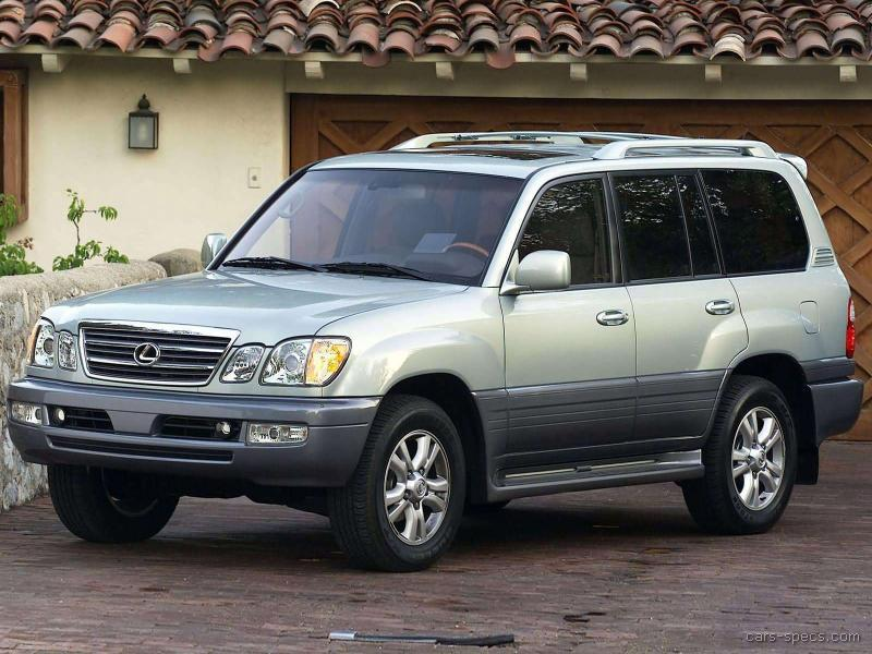 2001 Lexus Lx 470 Suv Specifications Pictures Prices