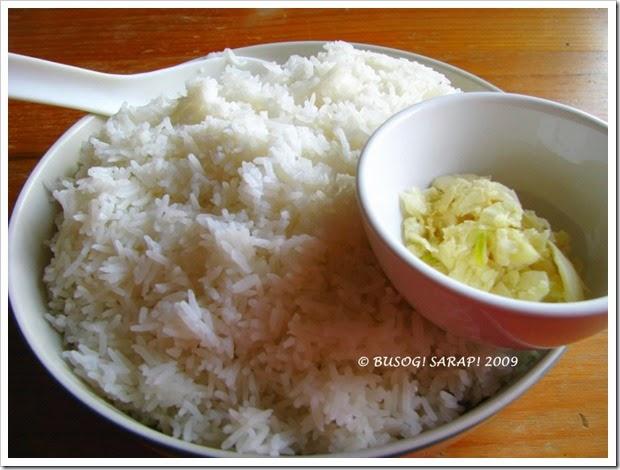 sinangag ingredients© BUSOG! SARAP! 2009