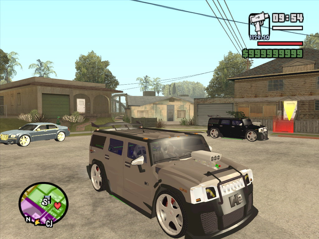 Коды на GTA San Andreas (читы для) 90