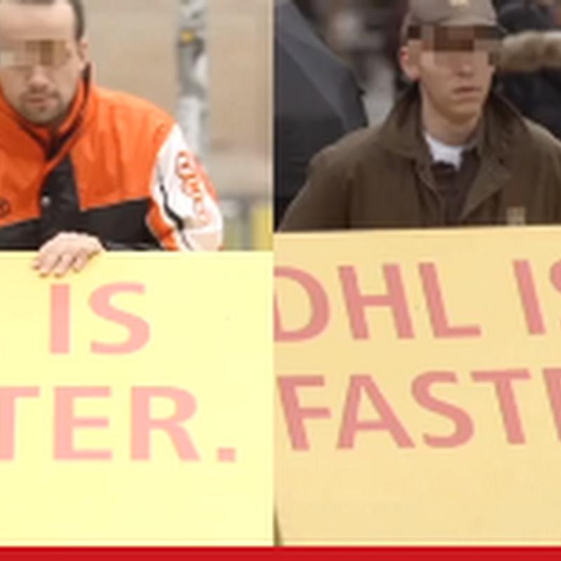 La publicidad troyana de DHL