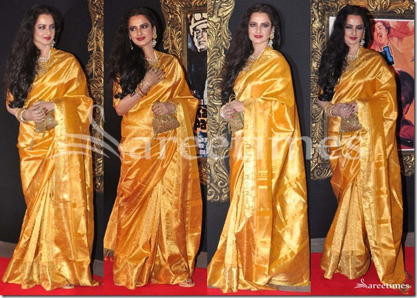 Rekha_Gold_Traditional_Saree
