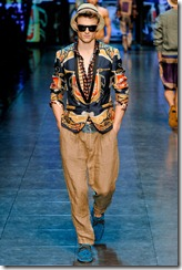 D&G Menswear Spring Summer 2012 Collection Photo 40
