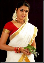 sandra-jose-hot-in-saree-pic