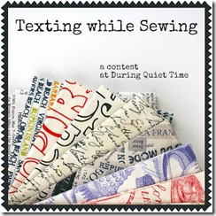 Texting While Sewing