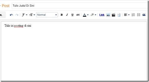 cara membuat posting blog 02