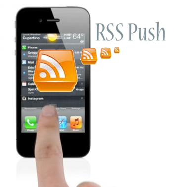 RSS Push Notifications The Mobile Spoon