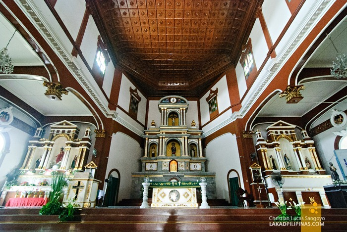 The Rizal Designed Retablo of Dipolog Cathedral