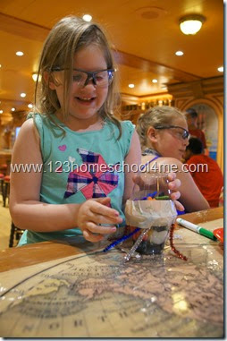 Super Sloppy Science Fun with Eggs for Families on Disney Cruise