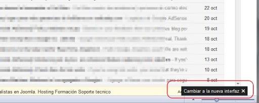 Cómo activar el nuevo diseño de Gmail