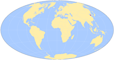 world-map qingdao