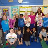 WBFJ Cici's Pizza Pledge - St. John's Lutheran School - Ms. Guelzow's 3rd Grade Class - Winston-Sale