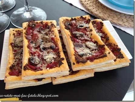 Mini tarte aperitiv