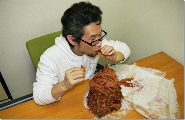 Hamburguer com 1.050 tiras de bacon (10)