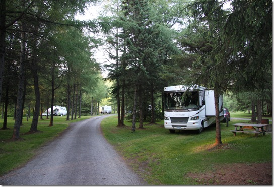 0609-1-Campsite Near Edmunston NB