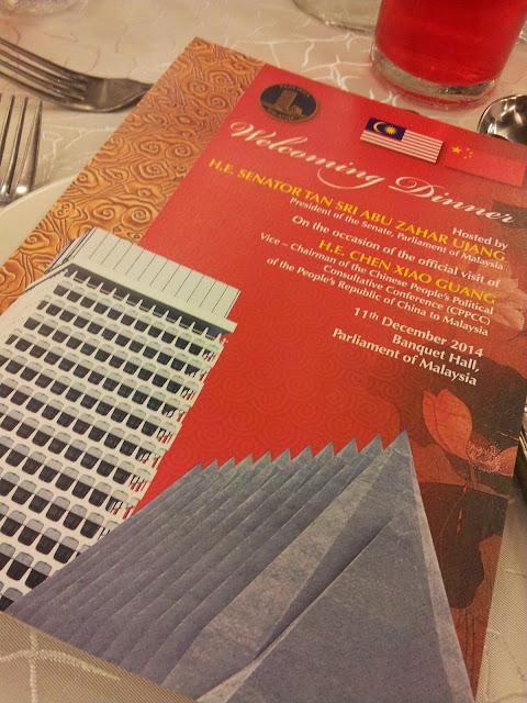 Dinner Sempena Lawatan Rasmi China bersama Tan Sri ABu Zahar Ujang