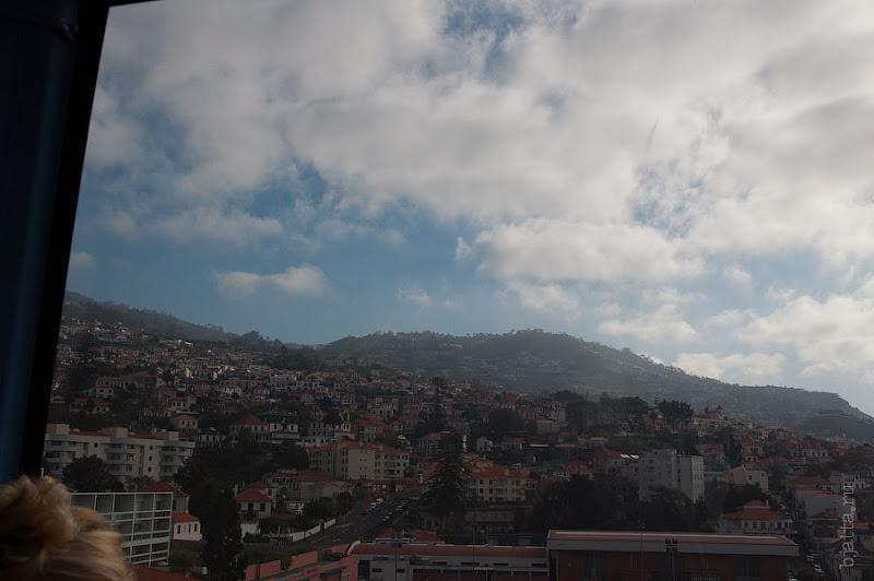 5. Город под нами и вокруг нас. Канатная дорога. Фуншал. Мадейра. Круиз на Costa Concordia.