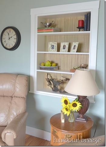 lightened bookcase