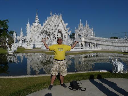 Obiective turistice Thailanda: White Temple Chiang Rai