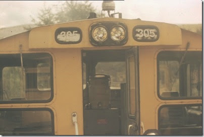 56154116-26 Empty Cab of Weyerhaeuser Woods Railroad (WTCX) SW1500 #305 on May 17, 2005