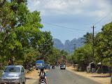 Heading into the vast karst area on the way to Tondongkarambu (Dan Quinn, October 2013)