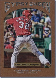 2011 Gypsy Queen Hamilton Framed