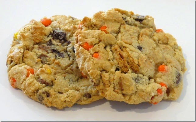 Peanut Butter Overload Chocolate Chip Cookies