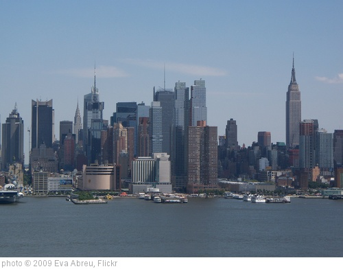 'New York City skyline, view from Weehawken NJ' photo (c) 2009, Eva Abreu - license: http://creativecommons.org/licenses/by/2.0/