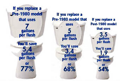 Low Flow Toilet Options
