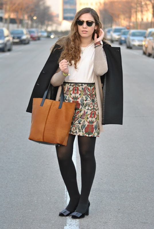 Fabric Printed Skirt