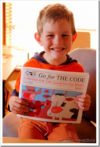 Our Aussie Homeschool ~ Go for the Code