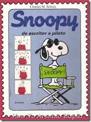 P00018 - Charles Schulz - Snoopy. De escritor a piloto.howtoarsenio.blogspot.com